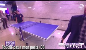 Stephane Plaza bat Cyril Hanouna au ping pong