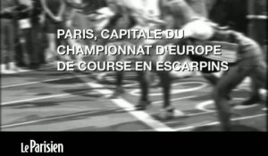 Paris, capitale du championnat d'Europe de course en escarpins