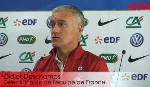 France - Albanie : le regard de Didier Deschamps sur l'adversaire