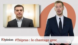 #tweetclash : #Tsipras : le chantage grec