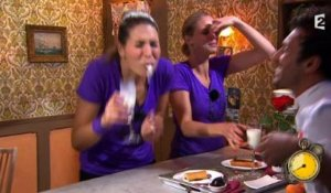 Quand Laury Thilleman recrache tout...  - ZAPPING PEOPLE BEST-OF DU 13/07/2015