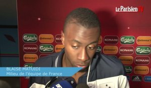 Arménie - France (0-3),  Matuidi « On engrange de la confiance »