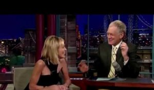 Paris Match s'invite chez David Letterman