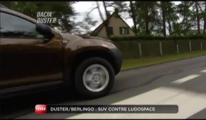 Comparatif Dacia Duster / Citroën Berlingo (Emission Turbo du 12/09/2010)