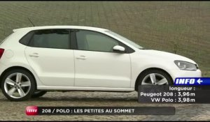 Comparatif : Peugeot 208 / Volkswagen Polo (Emission Turbo du 22/04/2012)