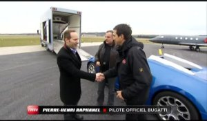 Journée de rêve : En Bugatti Veyron Grand Sport (Emission Turbo du 04/04/2010)