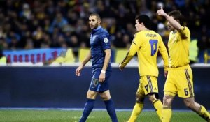 Barrages Coupe du Monde 2014 : L'Ukraine humilie la France (2-0)