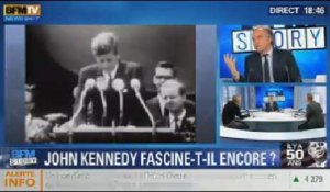 BFM Story: les commémorations de l'assassinat de JFK: John Kennedy fascine-t-il encore ? - 22/11