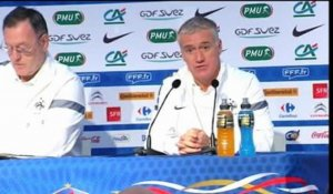 "Barrages / Deschamps : ""Lloris va très bien"" 11/11"