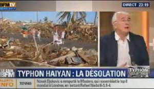 Le Soir BFM: Typhon Haiyan: l'aide humanitaire s'organise aux Philippines - 11/11 4/4