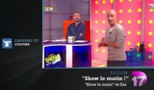 Zapping TV : Yves Calvi recadre Jean-Luc Mélenchon en direct