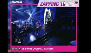 "Zapping Public TV n°833 : Ed Sheeran : sublime live de ""Thinking out loud"" au Grand Journal !"