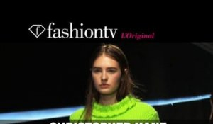 Karolina Kurkova at Christopher Kane Fall/Winter 2014-15 | London Fashion Week LFW | FashionTV