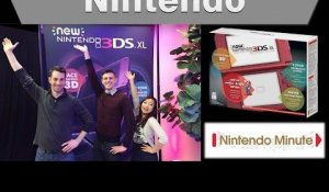 Nintendo Minute -- New Nintendo 3DS XL first look