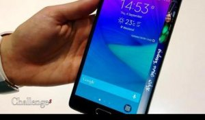 Prise en main du Galaxy Note 4 Edge de Samsung