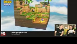 Captain Toad : Treasure Tracker - GK Live