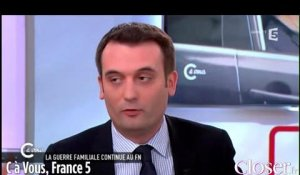 Florian Philippot sur la suspension de Jean-Marie Le Pen