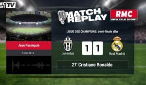 Juventus-Real Madrid (2-1) : le Goal-Replay avec le son RMC Sport