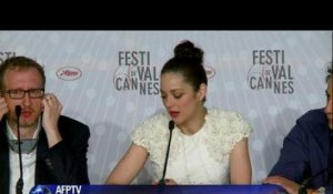"Cannes: ""The immigrant"", avec Marion Cotillard"