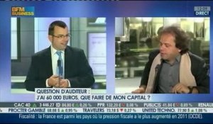 Jean-François Filliatre / BFM Business : les questions des auditeurs - 21/10/2012