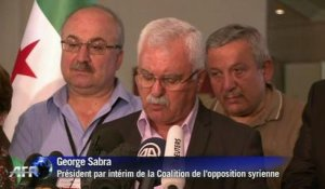 Syrie- l'opposition pose ses conditions
