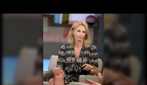Charlize Theron fait la promotion de Mad Max : Fury Road