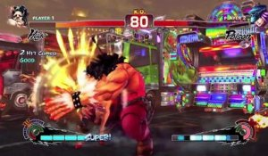 Ultra Street Fighter IV - Ultra Hugo Trailer