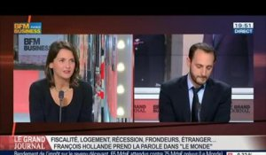 Caroline Michel et Benjamin Masse-Stamberger, dans Le Grand Journal - 20/08 7/7