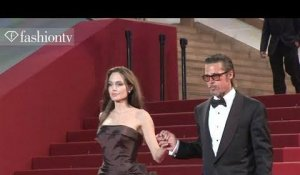 Brad Pitt + Angelina Jolie @ The Tree of Life Premiere, Cannes Film Festival 2011 | FashionTV - FTV