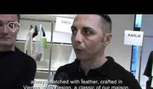 fashiontv | FTV.com - GIANFRANCO FERRE - DESIGNER AT WORK - MILAN F/W 10-11