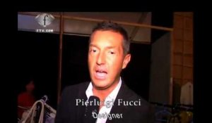 fashiontv | FTV.com - BACKSTAGE PIERLUIGI FUCCI FASHION SHOW SS 2009