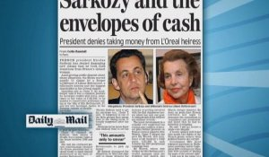 """Sarkozy and the envelopes of cash"" (presse anglaise)"