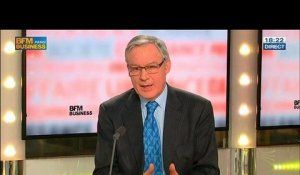 Christian Noyer, gouverneur de la Banque de France, dans Le Grand Journal – 12/02 2/4