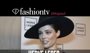 Hervé Léger Fall/Winter 2014-15 Arrivals | New York Fashion Week NYFW | FashionTV