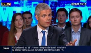 BFM Politique: L'interview de Laurent Wauquiez par Apolline de Malherbe - 27/04 4/6
