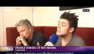 "Showbiz: Duo de choc à l'affiche de ""Fiston"": Franck Dubosc et Kev Adams - 09/03"