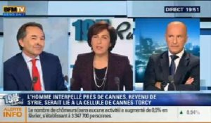Dominique Rizet et Gilles Kepel: le face à face de Ruth Elkrief - 26/03