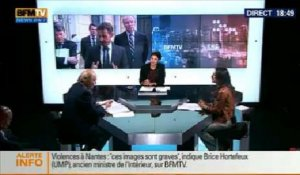 BFM Politique: L'interview de Brice Hortefeux par Anna Cabana - 23/02 3/6