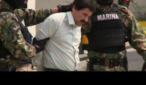 "Mexique: arrestation du narcotrafiquant ""El Chapo"""