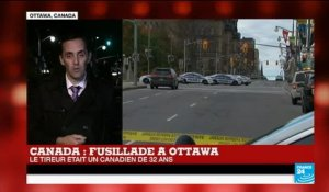 Fusillade au Parlement canadien : que sait-on du tireur d'Ottawa ?