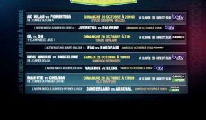 OL-OM, Real Madrid-FC Barcelone... Le programme TV des matches du weekend à ne pas rater !