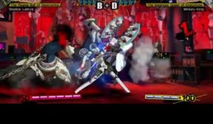 Persona 4 Arena - Shadow Labrys gameplay