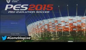 REPLAY #GameblogLive : PES 2015 PS4 version quasi définitive
