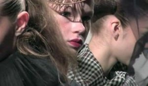 Corrie Nielsen's Tartan Girls - Fall 2012 at LFW | FashionTV