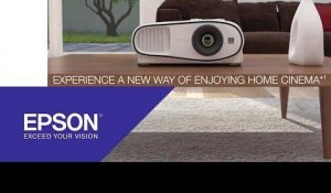 2D and 3D home theatre entertainment on the big screen with our EH-TW6600 | Epson