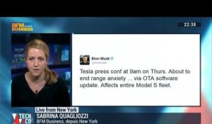 Live from New York: Ces tweets qui ont fait rebondir le titre Tesla Motors - 16/03