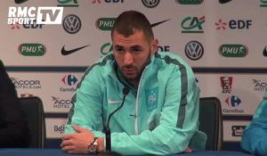 "Football / Amical / Benzema : ""Le capitaine, c'est Hugo Lloris"" - 25/03"