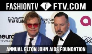 The 23rd Annual Elton John Aids Foundation Academy Awards Party 2015 ft. Alessandra Ambrosio & Miley Cyrus | FashionTV