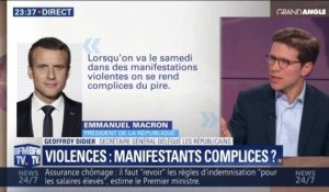 Violences: Manifestants complices ? (3/3)