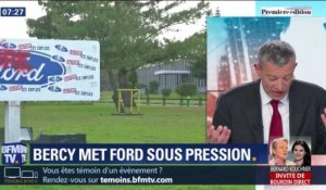 Bercy met Ford sous pression